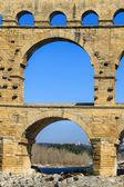 Pont du Gard, south of France — Stock Photo