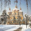 Zenkov Cathedral in Almaty, Kazakhstan — Stock Photo #52264461