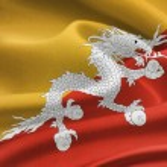 Flag of Bhutan — Stock Photo #52965699
