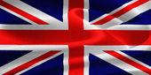 联合王国的国旗 — 图库照片