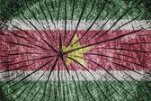 Bandiera del suriname — Foto Stock