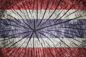 Bandera de tailandia — Foto de Stock