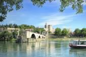 St.-Benezet bridge in Avignon, France — Stock Photo