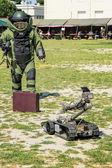 Bomb Squad (Deminage) — Stock Photo