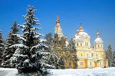 Zenkov Cathedral in Almaty, Kazakhstan — Φωτογραφία Αρχείου