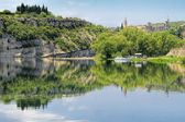 Kanion Ardeche, południowej Francji — Zdjęcie stockowe