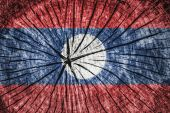 Flag of Laos — Stock Photo