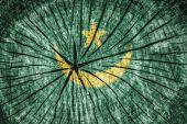 Flagga Mauretanien — Stockfoto