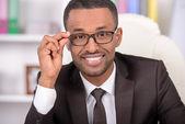 African Businessman — Stock Photo