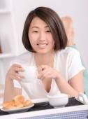 Belle femme asiatique — Photo