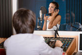 Recording Studio — Stock Photo