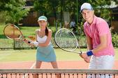 网球场 — 图库照片
