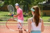 Tennis Court — Foto Stock