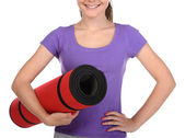 Fitness Teenager — Foto Stock