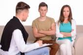 Rodinný psycholog — Stock fotografie