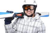 Skiing — ストック写真