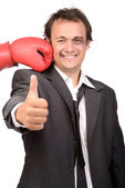 Fight Managers — Stock Photo