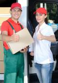 Delivery — Stock Photo
