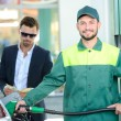 Petrol filling station — Stock Photo #57245587