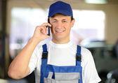автомобильное обслуживание — Стоковое фото