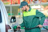 Petrol filling station — Stock Photo