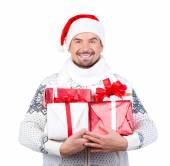 Christmas men — Stock Photo