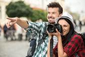Turistas — Foto de Stock