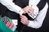 Poker — Stock fotografie