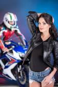 Motocykl — Stock fotografie