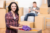 Moving home — Stock Photo
