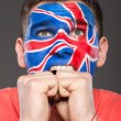 Face art. Flags. — Stock Photo #59348783