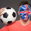 Face art. Flags. — Stock Photo #59348817