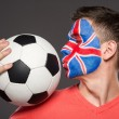 Face art. Flags. — Stock Photo #59348829