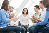 Support Group — Stock Photo