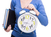 Student. Time. — Stock Photo