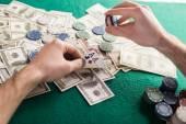 Poker game — Stock Photo