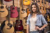Music store — Stock Photo