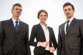 Businesspeople at a meeting — Stock Photo