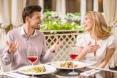 Romantic date — Stock Photo