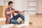 Furniture installation — Stock Photo