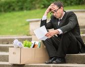 Unemployed man — Stock Photo