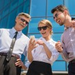 Business outdoor — Stock Photo #75393347