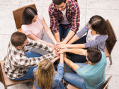 Group interaction — Stock Photo