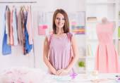 Designer clothing — Stock Photo