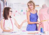 Diseñador de ropa — Foto de Stock