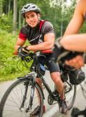 Bicycle sport — Stock Photo