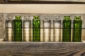 Botellas de vidrio — Foto de Stock