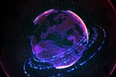 High technology globe — Stock Photo