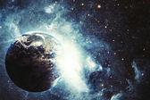 Земной взрыв — Стоковое фото