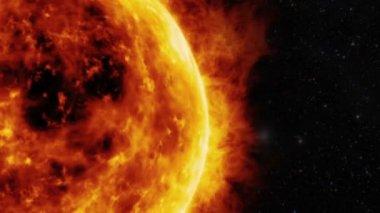 Sun surface — Stock Video